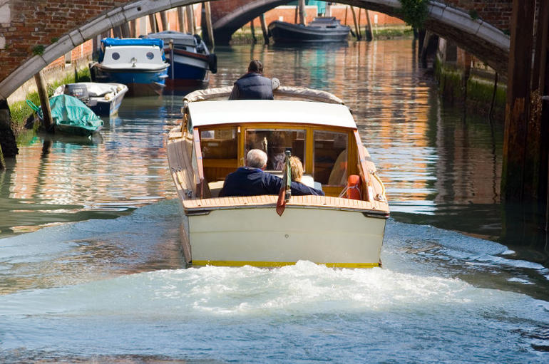 Grand Canal by Private Water Taxi - Venice