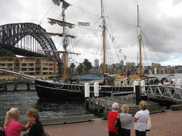 Photo of Sydney Sydney Harbour Tall Ship Twilight Dinner Cruise IMG_4020