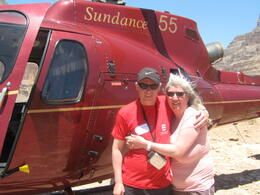 Photo of Las Vegas Grand Canyon All American Helicopter Tour Jane and ken
