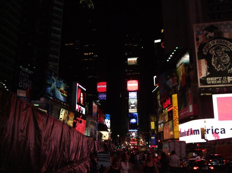 Night in Times Square - New York City
