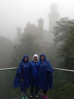 THE WEATHER MADE THE EXPERIENCE EVEN MORE REALISTIC , Yeymi F - September 2014
