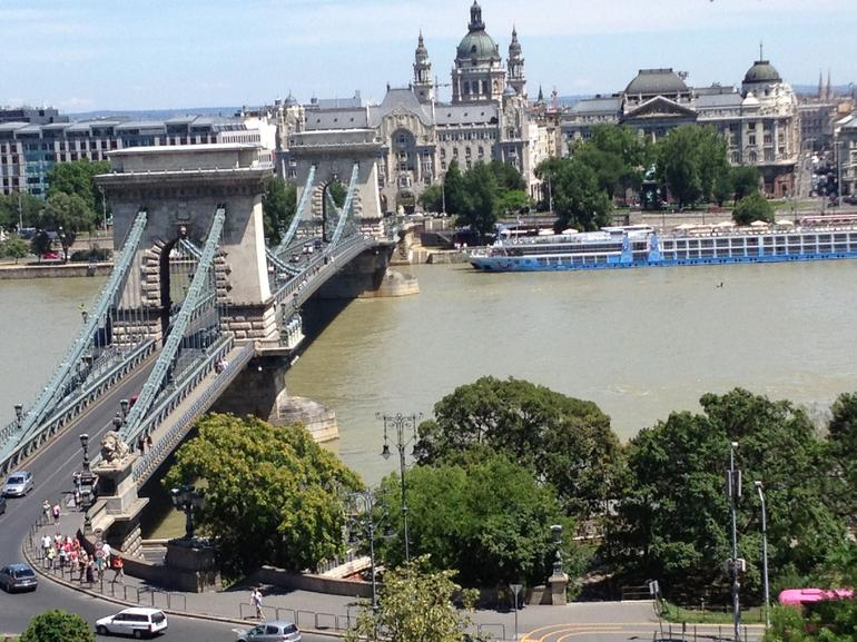 View from Buda Castle area - Budapest