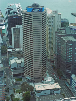 View from Sky Tower , Bill - February 2013