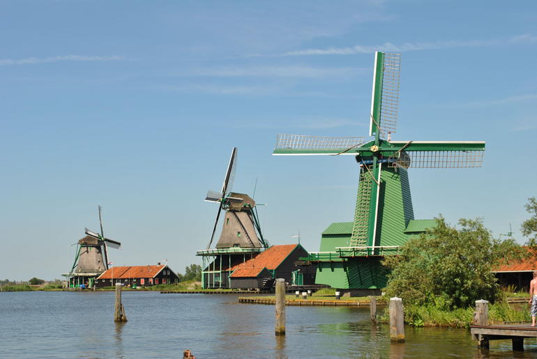 Windmills at Zaanse Schans - Amsterdam