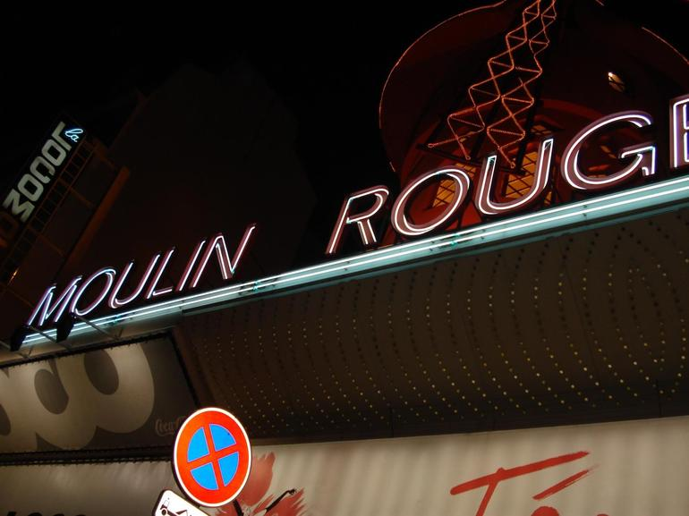 A night out in Paris at the Moulin Rouge! - Paris
