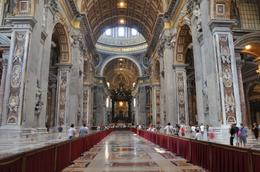 The interior of St. Peter's Basilica by Giovanni Paolo Pannini, Adel D - August 2010