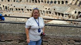 Photo of Rome Rome Super Saver: Colosseum and Ancient Rome with Best of Rome Afternoon Walking Tour Beautiful day at the Colosseum