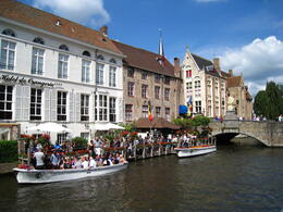 Photo of Amsterdam Bruges Day Trip from Amsterdam brujas: vista de los canales