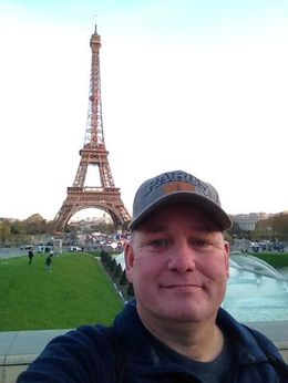 Eiffel Tower nov 2015 , Gary H - November 2015