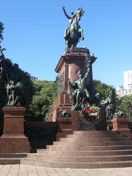 Photo of Buenos Aires Best of Buenos Aires Walking Tour General San Martin