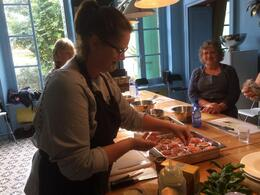 Photo of Avignon Provençal Cooking Class and Market Tour in Avignon Getting Stuck Into it