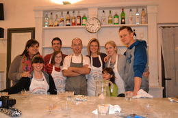 Photo of Florence Florence Cooking Class: Learn How to Make Gelato and Pizza Great times at our cooking class in Florence.