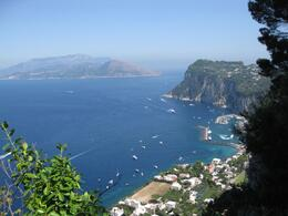 Taken from vantage point in Capri, Thomas H - September 2010