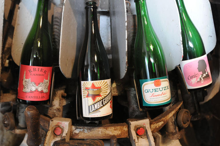 Lambic beer, Cantillon Brewery - Brussels