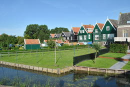 We visited Marken and visited a wooden shoe factory. , Marsha F - July 2011