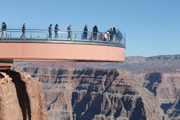 What a fantastic view you get of the Canyon from the Hualapai Tribe Skywalk platform. Not for those with vertigo .... but what a fantastic vista you get when walking on it. , June D - October 2012