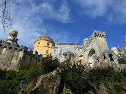 Photo of Lisbon Lisbon Super Saver: 2-Day Sintra, Cascais, Fatima, Nazare and Obidos Small-Group Day Trips Pena Palace near Sintra
