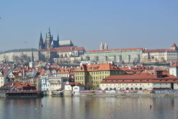 On Prague City walking tour with Tereza , Ann C - March 2015