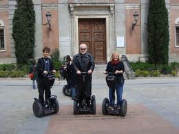 Photo of Madrid Madrid Segway Tour Ready for take off in Madrid!  One of the high-lights of the trip!