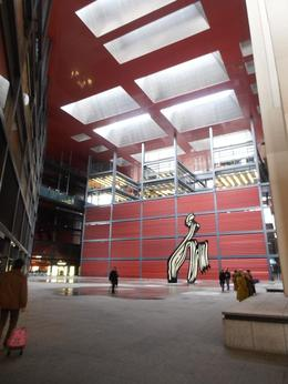 de the Reina Sofia Museum in Madrid, JC - March 2012