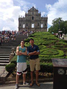 a little history in the day trip to Macau , Yvonne L - June 2015