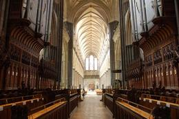 Photo of London Salisbury, Lacock and Bath Day Trip from London Salisbury Cathedral interior