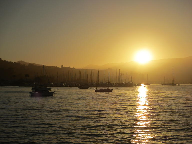 Sunset at Sausalito