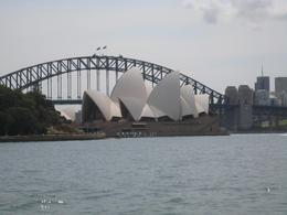 The view from the harbour in Sydney., Jodie A - October 2007