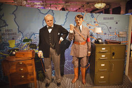 Mortal enemies, Churchill and Hitler , Christine A - September 2012