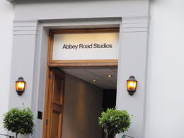 Abbey Road Studios - one of the stops on the tour , Shirley P - June 2013