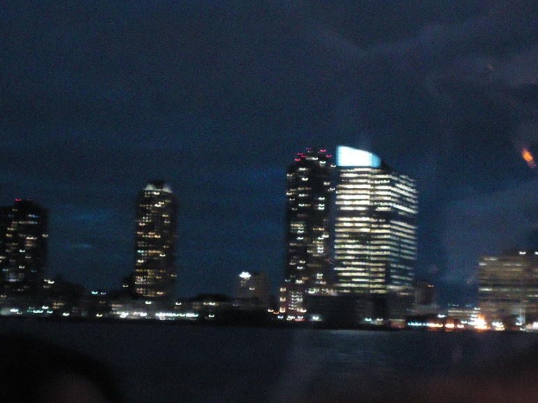 view from the boat - New York City