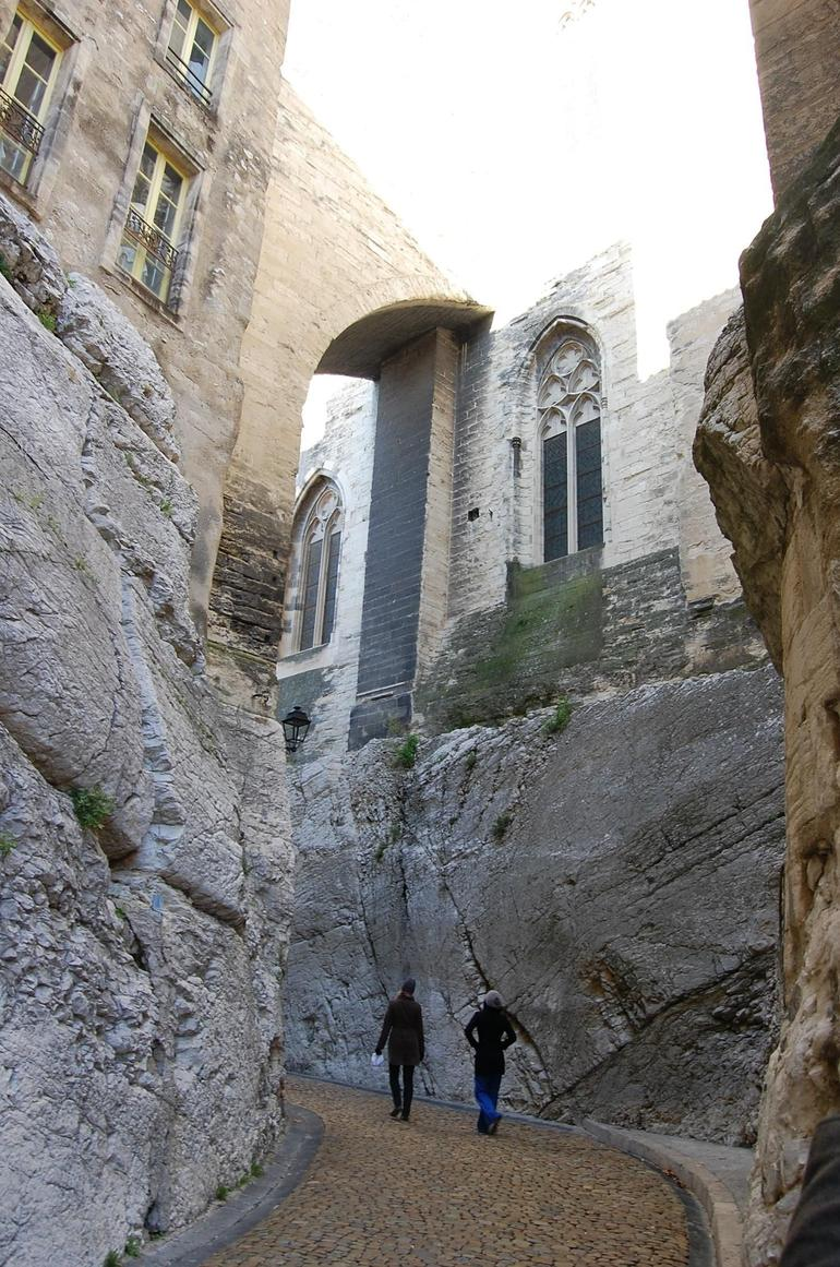 Avignon - Behind the Palace of the Popes - Avignon