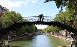 Photo of Paris Seine River Cruise and Paris Canals Tour Canal St. Martin 3