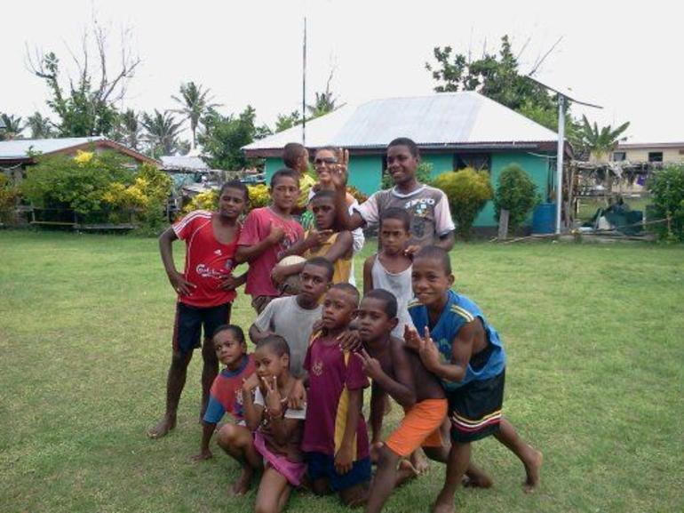children of the tribe we visited - Fiji