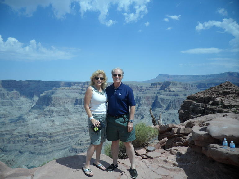 DON  and  ME WEST RIM GRAND CANYON - Las Vegas