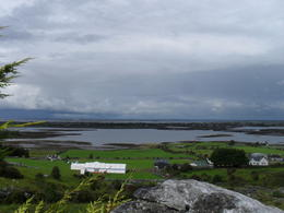 Beautiful Galway Bay stop after visiting Bunratty Castle, Cliffs of Moher and the Burren. , Anne-Marie - August 2011