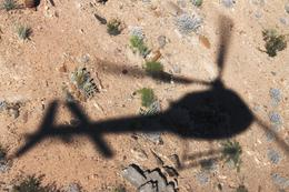 An interesting photo of our helicopter ride over the Canyon! , June D - October 2012