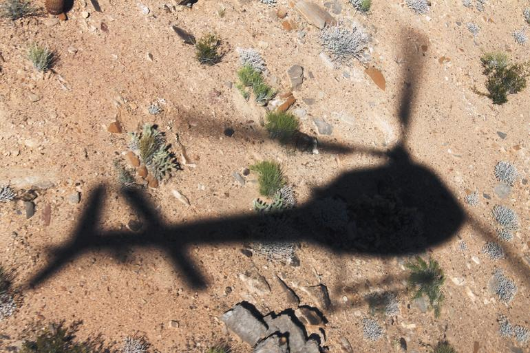 Helicopter ride over the Grand Canyon - Las Vegas