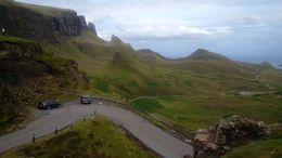 This is a view from a hill on the Isle of Skye. , William W - August 2015