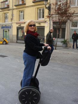 Photo of Madrid Madrid Segway Tour Not bad for some one almost 60!