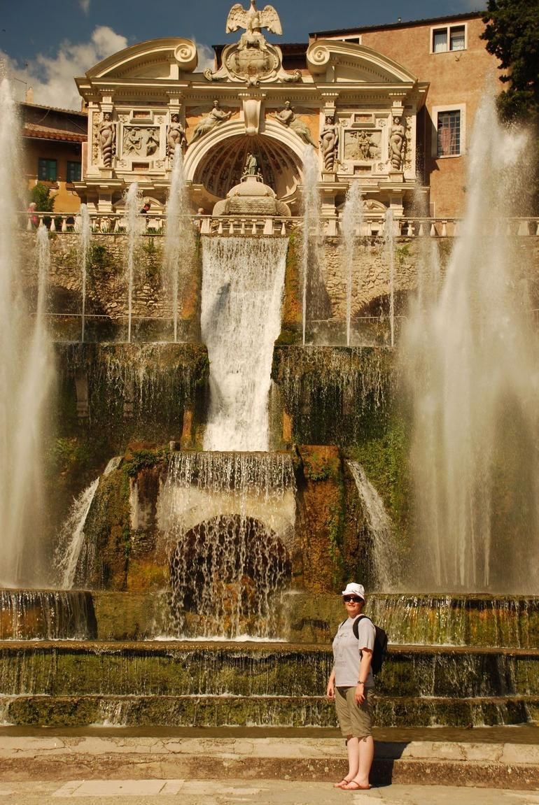 One of the hundreds of fountains at the Villa D'Este - Rome