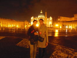Photo of Rome Panoramic Rome by Night Tour St. Peters Square at the Vatican