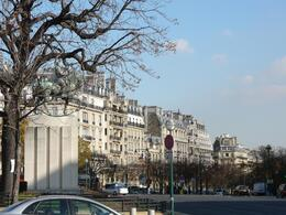 Rows of historic buildings in Paris., Jamie S - December 2007