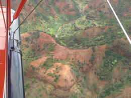 Photo of Kauai Vintage Biplane Tour of Kauai The canyon