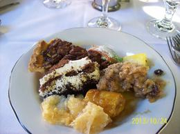 Photo of New Orleans Jazz Brunch Buffet at the Court of Two Sisters Restaurant Two Sisters desserts