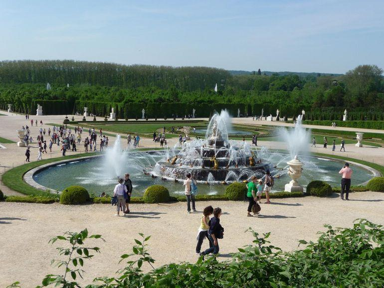Versailles Garden fountains - Paris