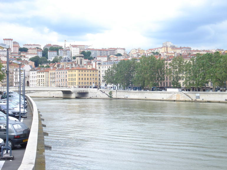View of the Saone River - Lyon