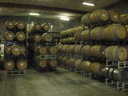 Wine barrels, Ryan C - May 2010