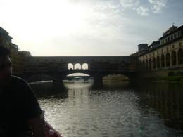 Coming up to the Ponte Vecchio, AlexB - July 2012