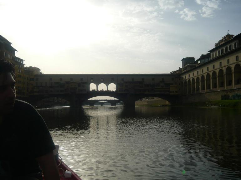 Approaching the Bridge - Florence